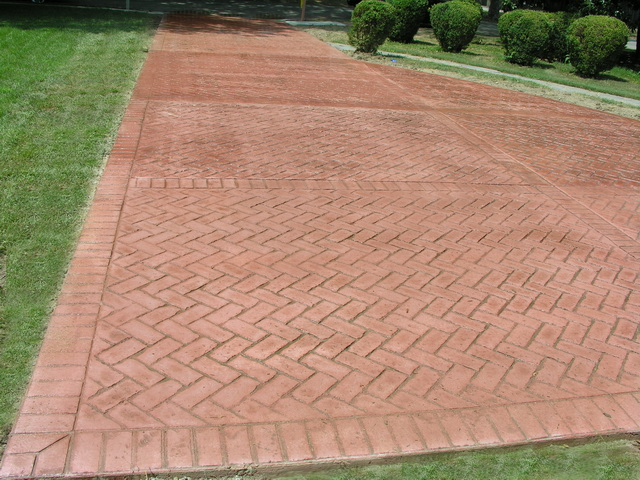 Concrete Driveways Stamped Concrete