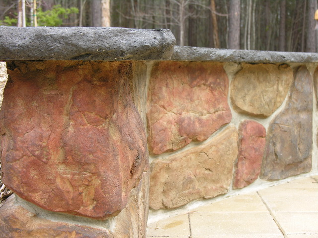 Stone Walls and Benches